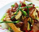 韭花香干炒腊肉的做法