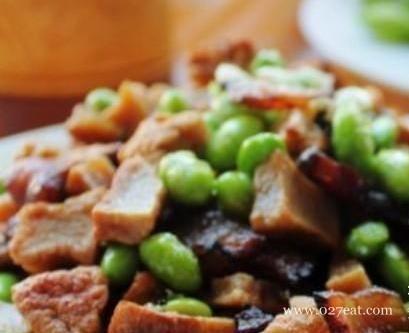 毛豆腊肉炒豆干的做法,如何做,毛豆腊肉炒豆干怎么做好吃详细步骤图解