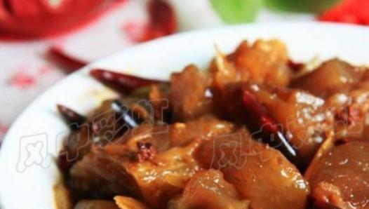 开胃荤菜 香辣牛蹄筋的做法,如何做,香辣牛蹄筋怎么做好吃详细步骤图解