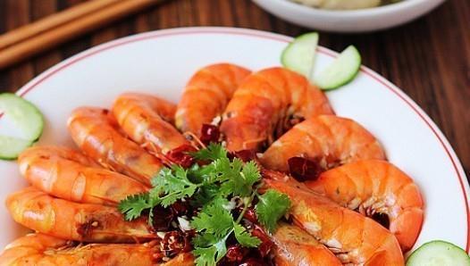 开胃家常菜 水煮香辣虾的做法,如何做,水煮香辣虾怎么做好吃详细步骤图解