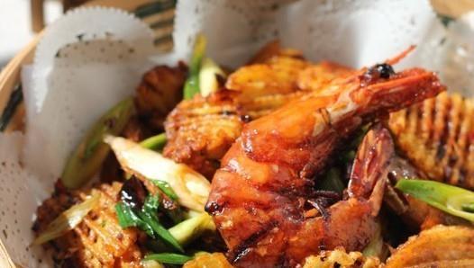 干锅土豆香辣虾的做法,如何做,干锅土豆香辣虾怎么做好吃详细步骤图解
