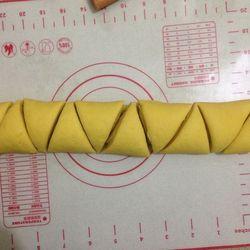 南瓜花卷的做法第7步图片步骤 www.027eat.com