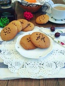 巧克力豆曲奇饼干的做法第11步图片步骤 www.027eat.com