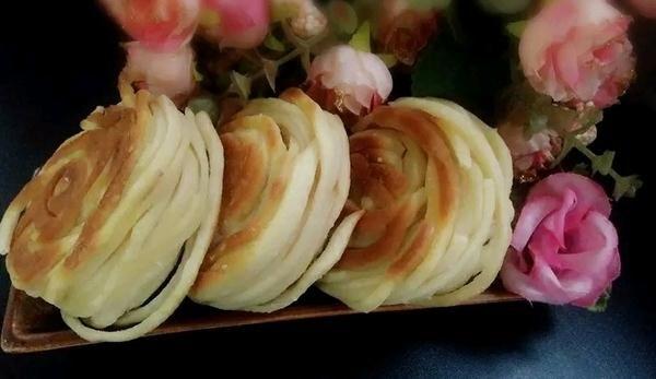 面条螺旋饼的做法,如何做,面条螺旋饼怎么做好吃详细步骤图解