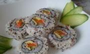 芝麻里卷寿司的做法第10步图片步骤 www.027eat.com