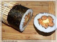 梅花寿司的做法第10步图片步骤 www.027eat.com