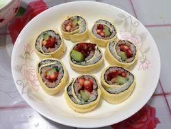 芝士寿司的做法第9步图片步骤 www.027eat.com