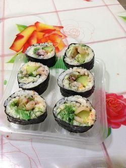 芝士寿司的做法第12步图片步骤 www.027eat.com