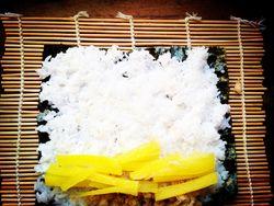肉松寿司的做法第6步图片步骤 www.027eat.com