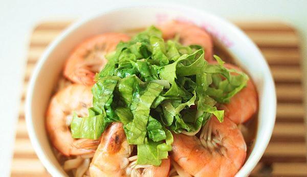 鲜虾酱汤面的做法,如何做,鲜虾酱汤面怎么做好吃详细步骤图解