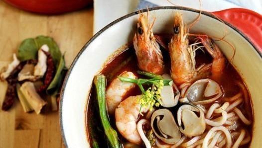 冬阴功汤面的做法,如何做,冬阴功汤面怎么做好吃详细步骤图解