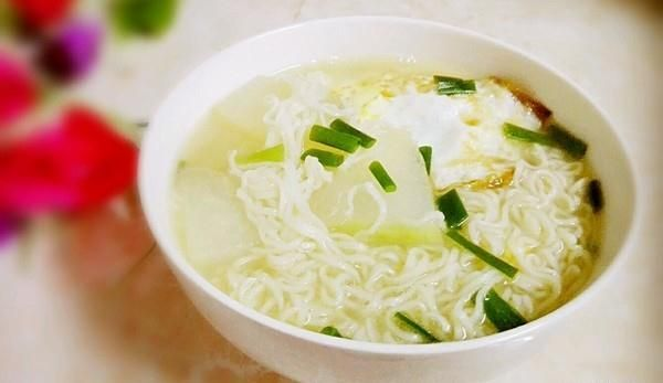 冬瓜鸡蛋汤面的做法,如何做,冬瓜鸡蛋汤面怎么做好吃详细步骤图解