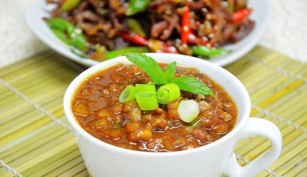茄丁肉酱面条卤的做法,如何做,茄丁肉酱面条卤怎么做好吃详细步骤图解