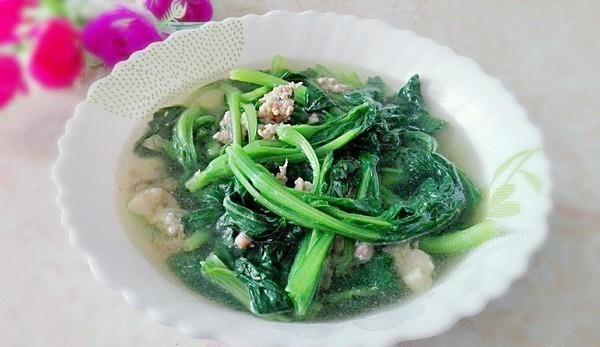 肉末青菜汤的做法,如何做,肉末青菜汤怎么做好吃详细步骤图解