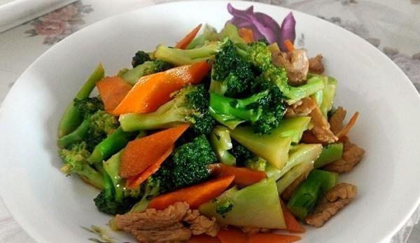 西兰花炒肉的做法,如何做,西兰花炒肉怎么做好吃详细步骤图解