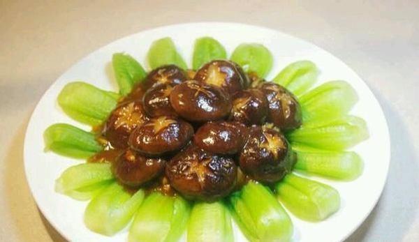补虚素菜 香菇青菜的做法,如何做,香菇青菜怎么做好吃详细步骤图解