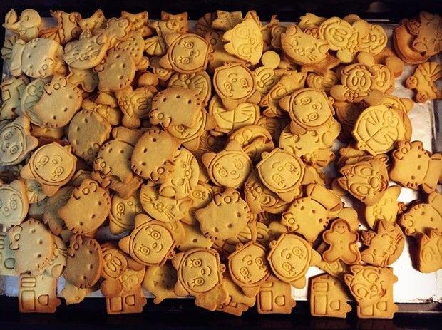 卡通黄油饼干的做法图解,如何做,卡通黄油饼干怎么做好吃详细步骤