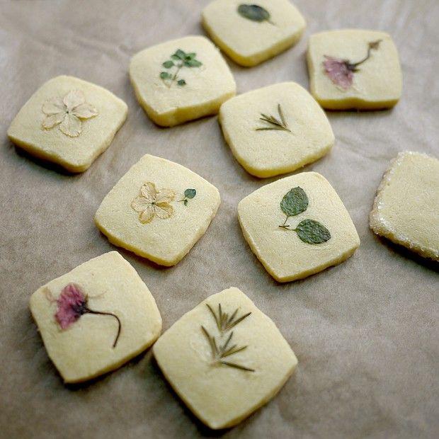 鲜香草黄油饼干的做法图解,如何做,鲜香草黄油饼干怎么做好吃详细步骤