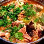 冬季营养餐 羊肉火锅的做法图解,如何做,羊肉火锅怎么做好吃详细步骤