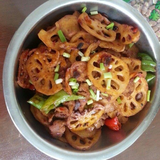 干锅莲菜的做法图解,如何做,干锅莲菜怎么做好吃详细步骤