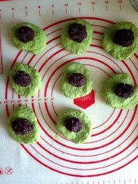 抹茶红小豆司康的做法第5步图片步骤 www.027eat.com