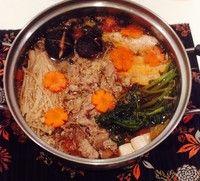 日式牛肉火锅的做法第2步图片步骤 www.027eat.com
