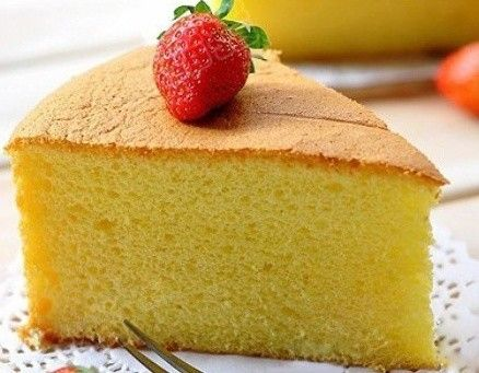 烘焙点心 8寸戚风蛋糕的做法图解,如何做,8寸戚风蛋糕怎么做好吃详细步骤