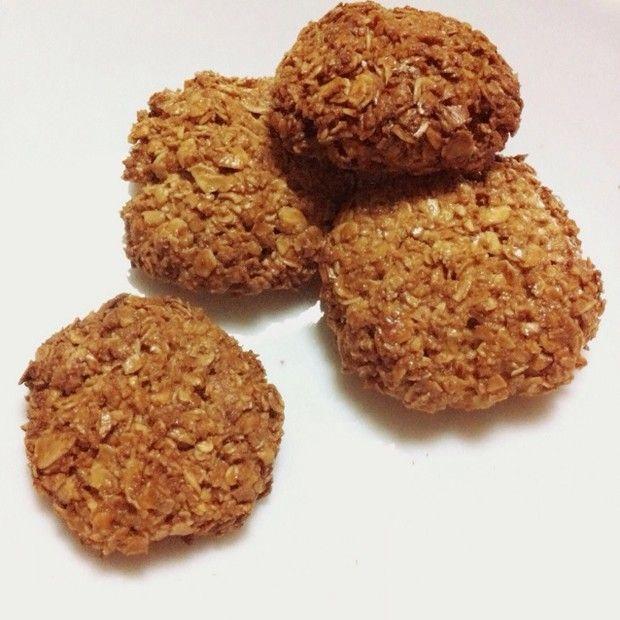 减肥零食燕麦饼干的做法图解,如何做,减肥零食燕麦饼干怎么做好吃详细步骤