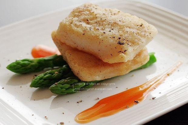 营养荤菜 香煎龙利鱼的做法图解,如何做,香煎龙利鱼怎么做好吃详细步骤