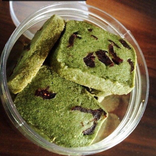 抹茶蔓越莓饼干的做法图解,如何做,抹茶蔓越莓饼干怎么做好吃详细步骤