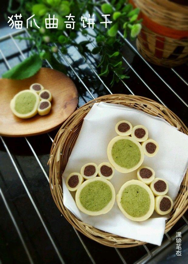 猫爪曲奇饼干的做法图解,如何做,猫爪曲奇饼干怎么做好吃详细步骤