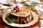 巧克力榛子树桩蛋糕的做法