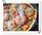 鲜虾培根薄披萨的做法