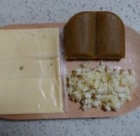 咖喱芝士穿肠意面的做法第1步图片步骤 www.027eat.com