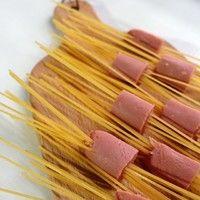 咖喱芝士穿肠意面的做法第2步图片步骤 www.027eat.com