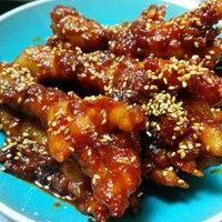 韩式辣鸡爪的做法第8步图片步骤 www.027eat.com