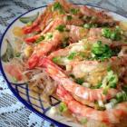 营养荤菜 蒜蓉粉丝蒸大虾的做法图解,如何做,蒜蓉粉丝蒸大虾怎么做好吃详细步骤