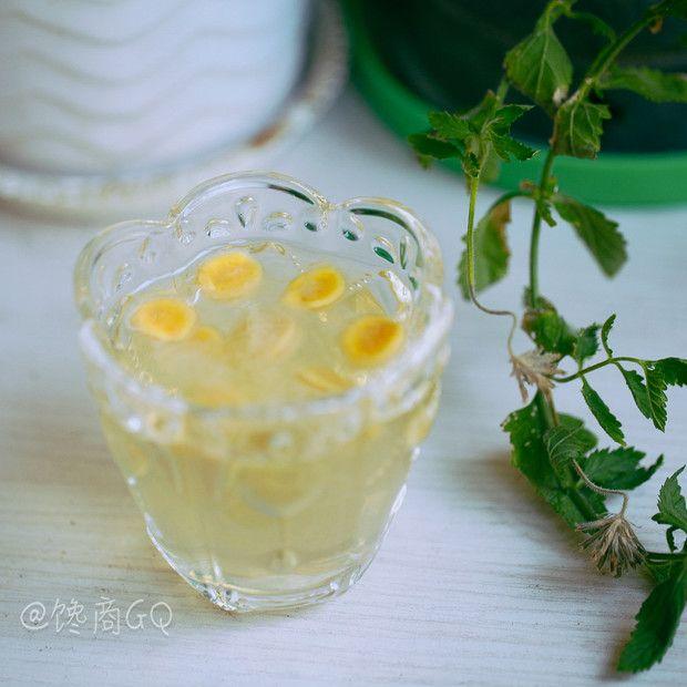 清热润肺罗汉果茶的做法