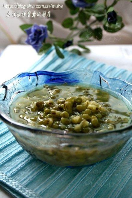 清热绿豆冰爽汤的做法