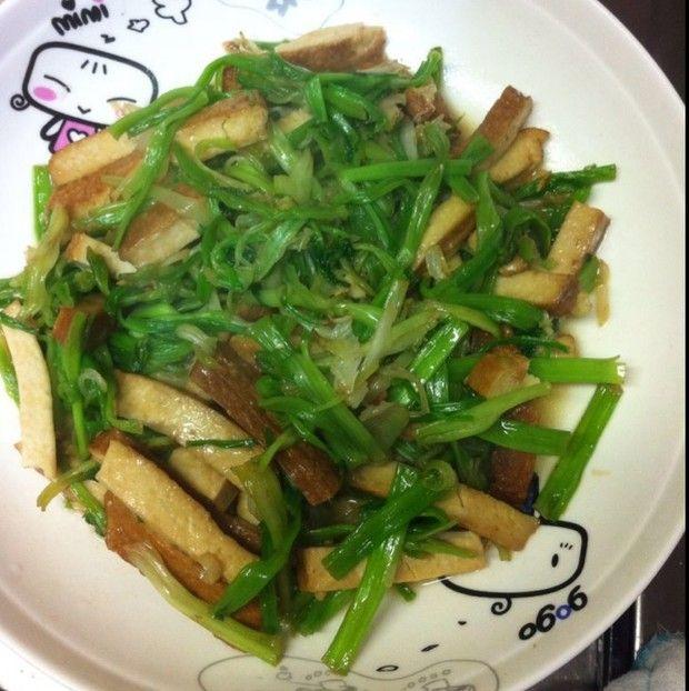 水芹炒豆干的做法图解,如何做,水芹炒豆干怎么做好吃详细步骤