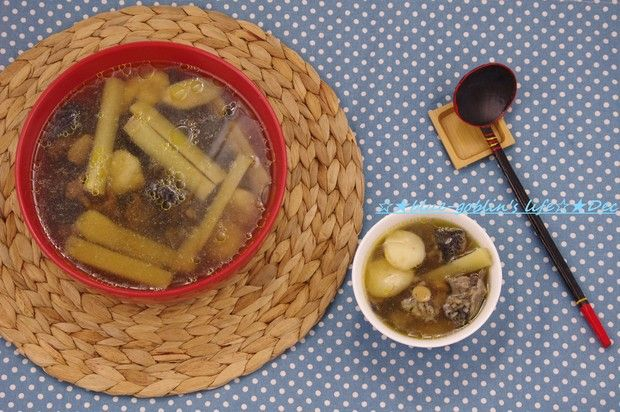 补身清火的乌鸡马蹄竹蔗汤的做法