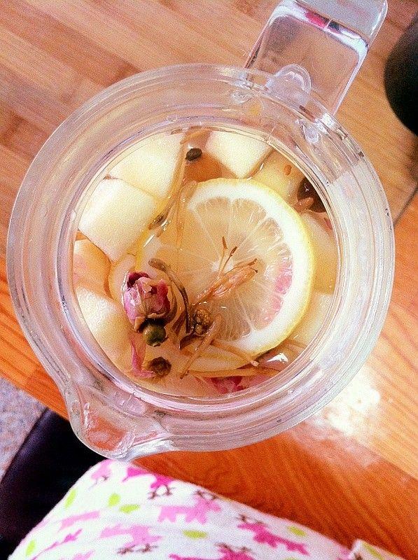 养颜清热花果茶的做法