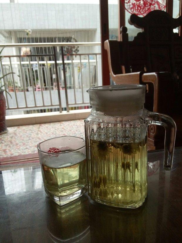 清火菊花茶的做法
