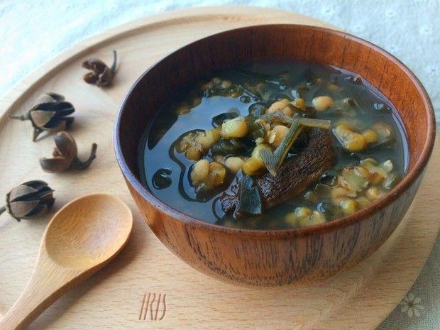 薏米海带绿豆沙的做法