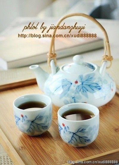 清热明目降压茶的做法