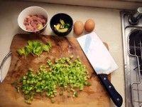 西洋芹猪肉滑蛋粥的做法第1步图片步骤 www.027eat.com