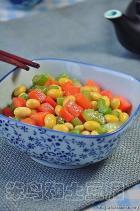 芹菜黄豆的做法图解,如何做,芹菜黄豆怎么做好吃详细步骤