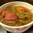 强力清热雷公根汤的做法