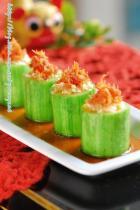 蒜蓉干贝蒸丝瓜的做法图解,如何做,蒜蓉干贝蒸丝瓜怎么做好吃详细步骤