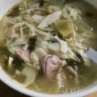 苦笋冬菜肉片汤的做法